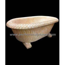 Antique Classic Stone Marble Granite Bath Tub for Bathroom (QBN057)