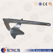 50kg Carbon Steel Hot DIP Galvanized Ship Anchor