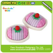 Eraser Papeterie Mini Cake Shaped Rubbers