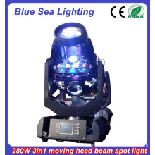 2015 New 10R 280w beam spot wash 3 in 1 high power sharpy