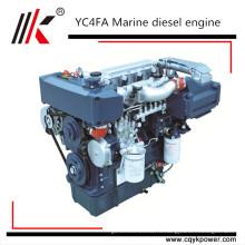 Юйчай 250Л китайских судовых двигателей дизельный двигатель с коробкой передач YC6A250-С20