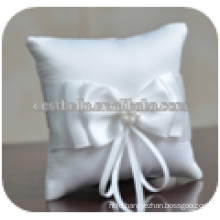 Chic Fancy Double Soft Lace with Bow Ribbons Wedding Pillow