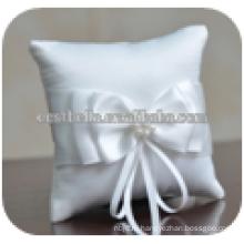 Шикарные необычные двойные мягкие кружева с бантом ленты Свадебные подушки