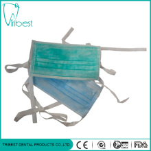 Non-woven Surgical Tie-on Anti-pollution Face Mask
