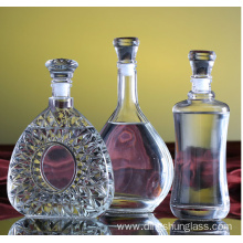Chinese traditional retro style glass bottles