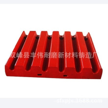 OEM High Manganese Steel Jaw Crusher Parts Jaw Plate