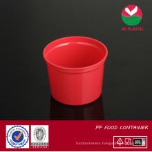 Round Plastic Food Container (AB 1020 red)