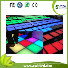 Programa interativo de piso de dança com LEDs no cartão SD