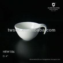 anidación de porcelana bowls para hotel de tres estrellas en Surabaya, Indonesia