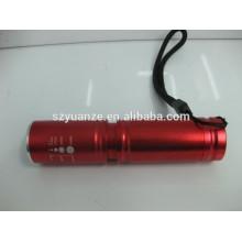 Производитель светодиодный фонарик, светодиодный фонарик отражатель, светодиодный мини-фонарик