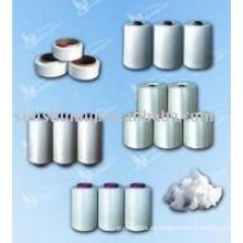 Hilo, hilo y fibra de Viscosa, Poliéster, Nylon6 y Nylon 66, Acrílico, Spandex, PP, Algodón, Leche, Bambú, Soja, PLA