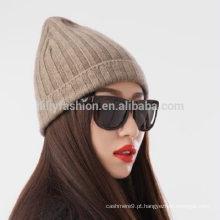 2017 cashmere knitting chapéu feminino