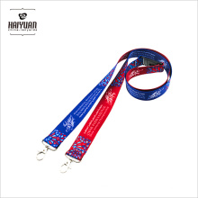 Custom Walking Polyeste 2.0 * 90cm Lanyards für American Lanyards Comedy Button