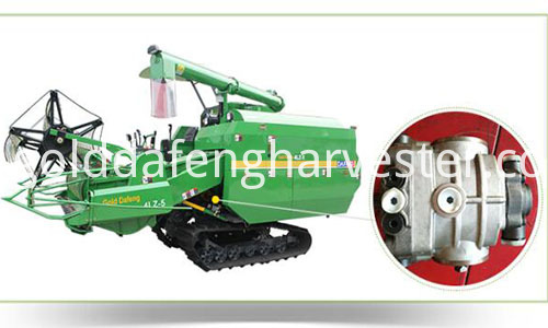 Self-propelled Full Feed Rice Combine Harvester-HST