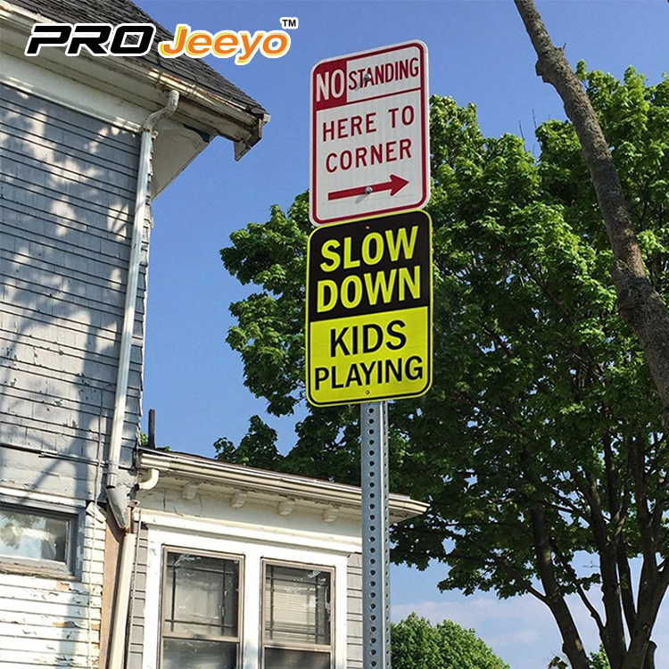 slow down sign 4