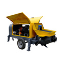 Electric mobile fine stone concrete mortar pump