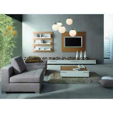 Solide italienische Moderne Holzmöbel Holz TV-Möbel (MZ-L0301)