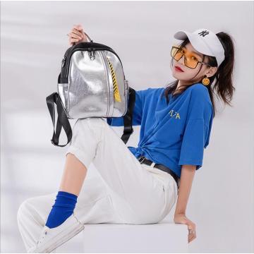 Sacs à dos cool à la mode pour filles réfléchissantes en PU