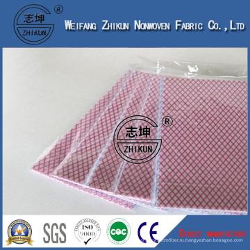 Цвет Гидрофильные ткани для влажные салфетки Спанлейс нетканого материала