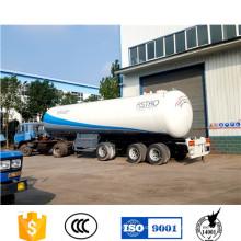 Remolque de cisterna de Gas GLP Bolivia estándar de 3 ejes para la venta