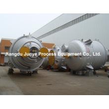 Reactor de acero inoxidable 316L con medio tubo R004