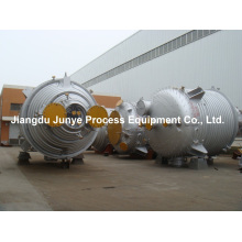 Réacteur en acier inoxydable 316L avec demi tube R004