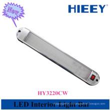 Высокое качество привело интерьер автомобиля лампа для использования грузовика хромированная рамка привело внутренний свет