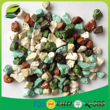 Fornecedor de 12 anos para o doce de rocha de chocolate em forma de pedra