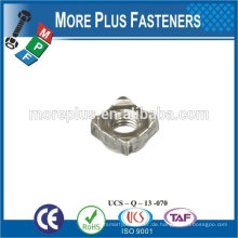 Made in Taiwan Square Weld Nut Feingewinde Square Nut