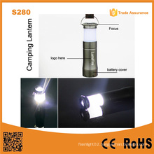 S280 3AAA Dry Battery Source Camping Light Small LED Camping Lantern