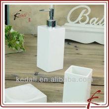Conjunto de 3 conjunto de baño blanco