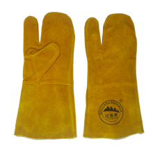 Gants de soudure en cuir Price Industrial Leather Hand Gloves