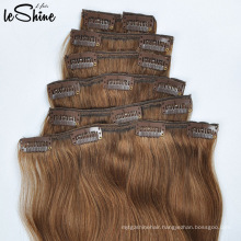 European Remy 100% Human Hair Extensions Clip In For Black Women