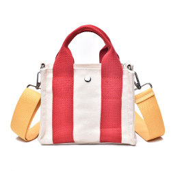 Korean Style Stylish Canvas Waist Hand Bag