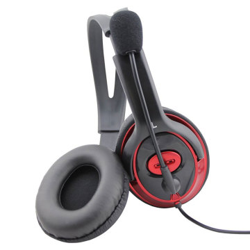 hands free headset call center headphone with air tube