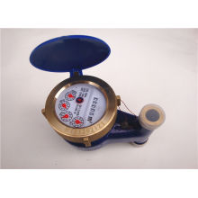 Universal Vertical Vane Wheel Water Flow Meters , Water Usage Meter 4 Inch