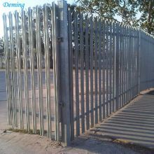 Wholesale Plastic Coated W Palisade Fence Mesh