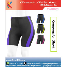 stretch women short compression shorts Cheap Custom factory breathe freely high compression
