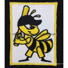 Animal bonito bordado emblemas moda decoração presente