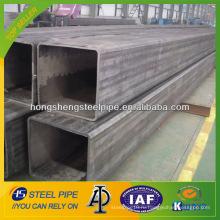 ASTM A106 бесшовная углеродистая квадратная труба 70x70