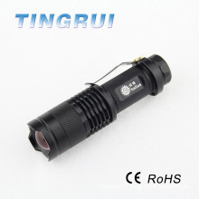 800 Lumens XML T6 Led Zoomable torch lighter