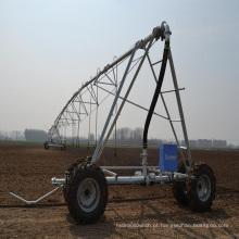 sistema de irrigação por pivô linear com tração nas rodas