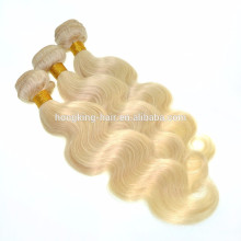 Drop Shipping 220g/150g/120g Full Cuticle #613 Sew In Hair Extension Ash Blonde Natural Hair Body wave