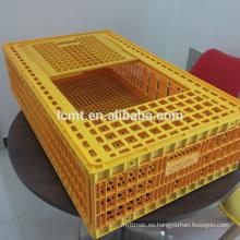 Jaulas de transporte de aves de corral de plástico de precio de fábrica para pollo