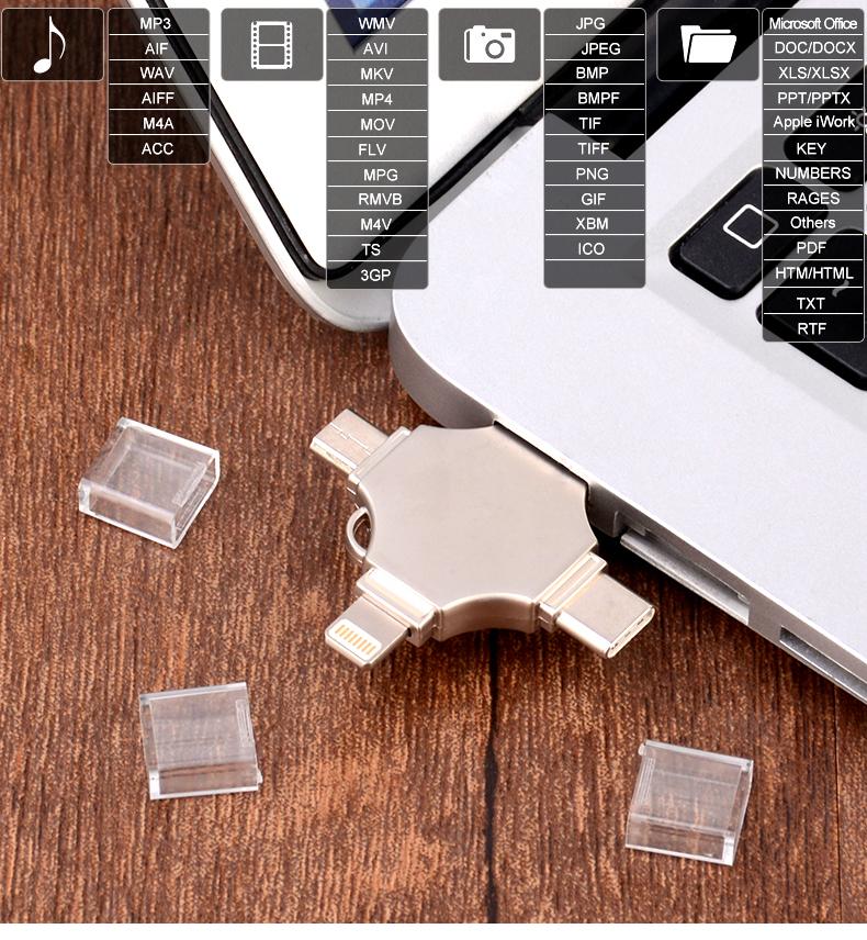4 in 1 OTG USB