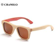 Sonnenbrillen aus Holz Bambus Sonnenbrillen