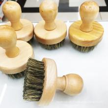 nuevo cepillo de barba de cerdas faciales de alta calidad