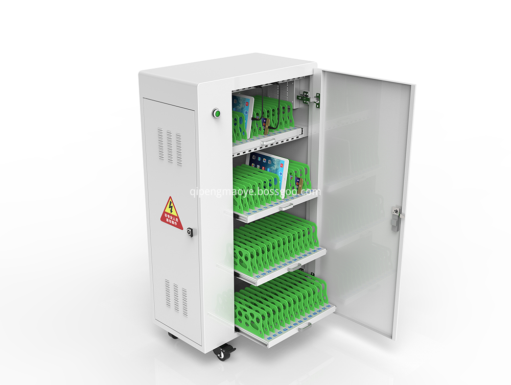 Smart security locker charging cart