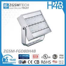 Lumière imperméable de réflecteur de l'IP66 LED de 80W pour l'éclairage de panneau d'affichage