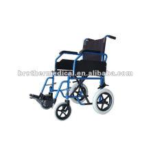 Slope Armlehne Leicht Transport Rollstuhl mit CE